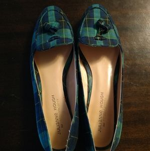Julianne Hough   Cambria Plaid Loafers Flats 8.5
